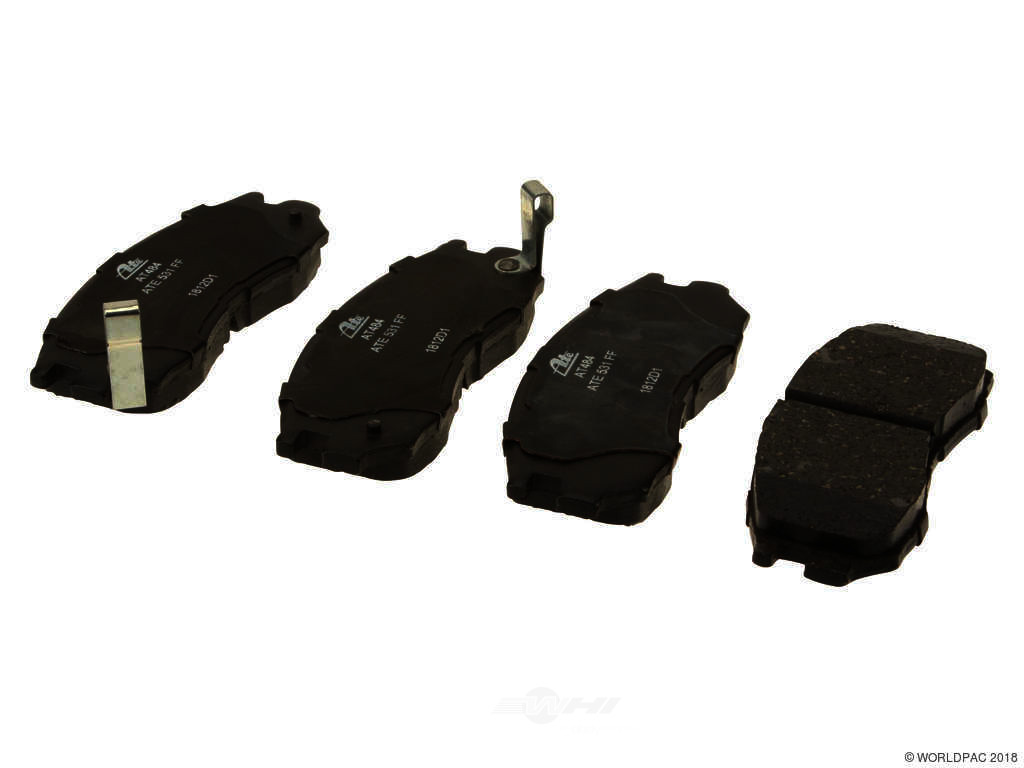 FBS - ATE Premium One Ceramic Brake Pad Set With Shims (Front) - B2C W0133-1671645-APC