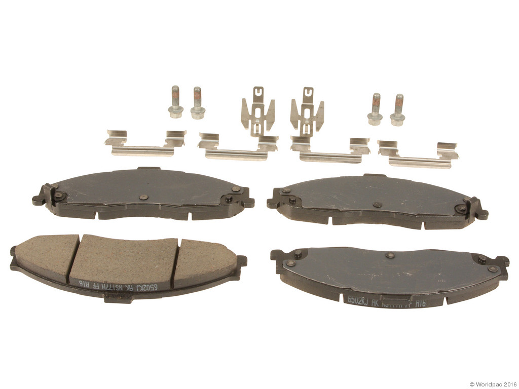 FBS - ACDelco GM OE Brake Pad Set (Front) - B2C W0133-1689354-ACD