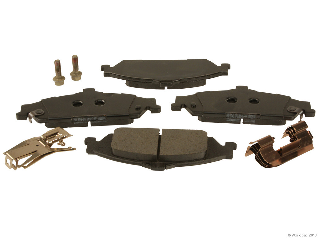 FBS - ACDelco GM OE Brake Pad Set With Shims (Front) - B2C W0133-1692002-ACD
