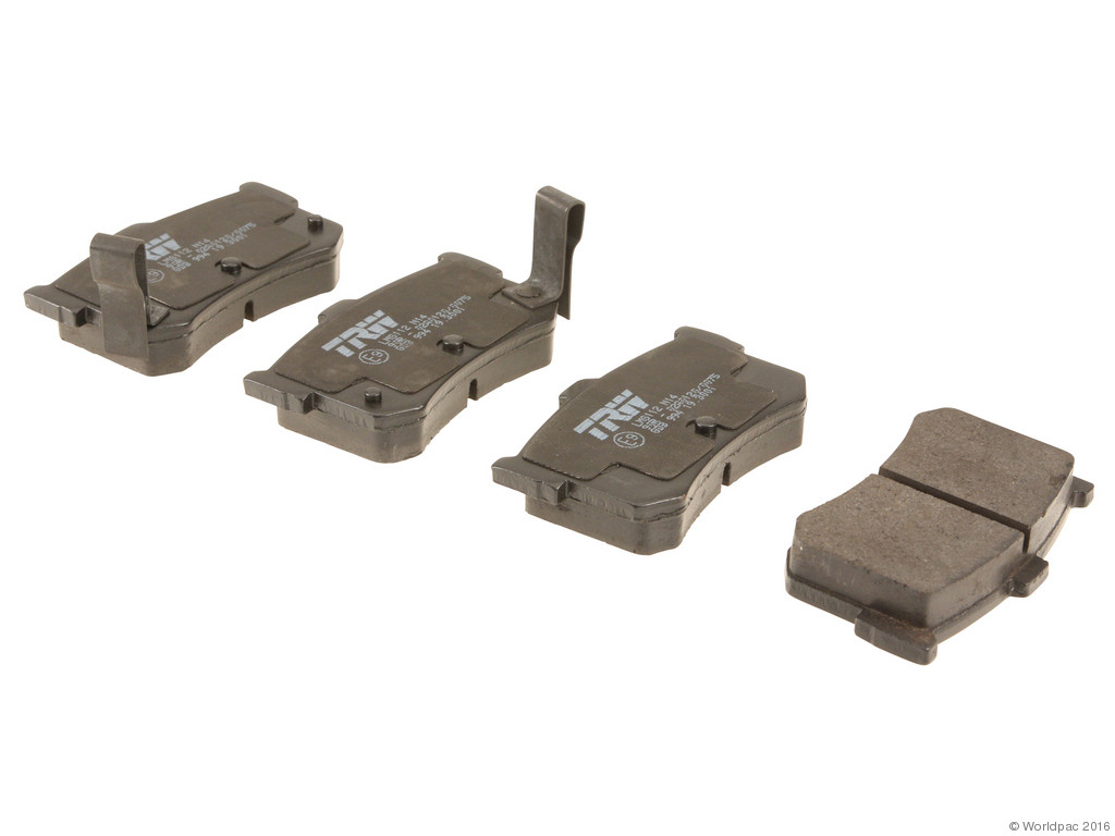FBS - TRW OE Formulated Brake Pad Set With Shims (Rear) - B2C W0133-1709246-TRW