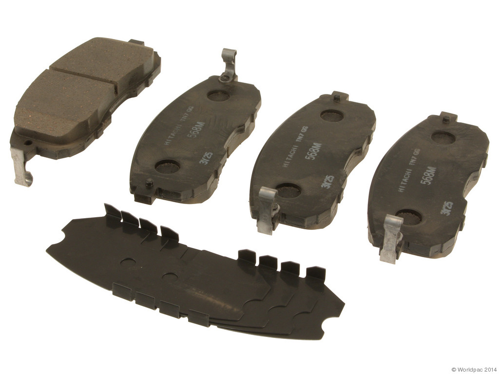 FBS - Hitachi OE Formulated Brake Pad Set with Shims (Front) - B2C W0133-1722206-HIT