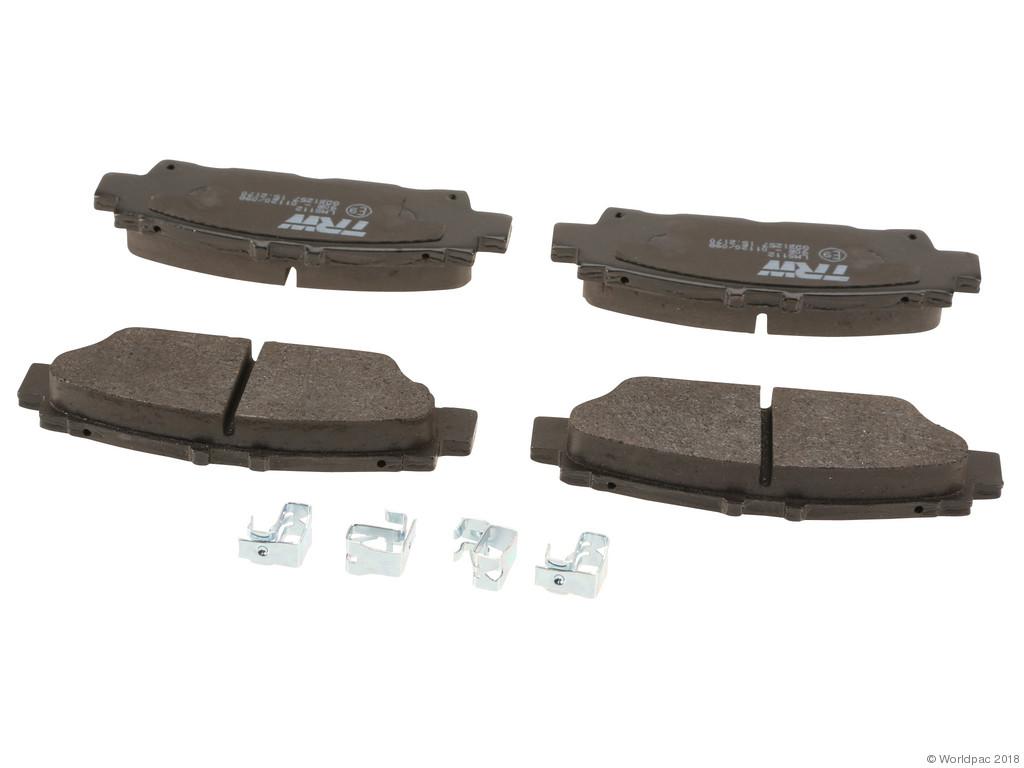FBS - TRW Premium OE Formulated Brake Pad Set w/Shims (Rear) - B2C W0133-1739484-TRW