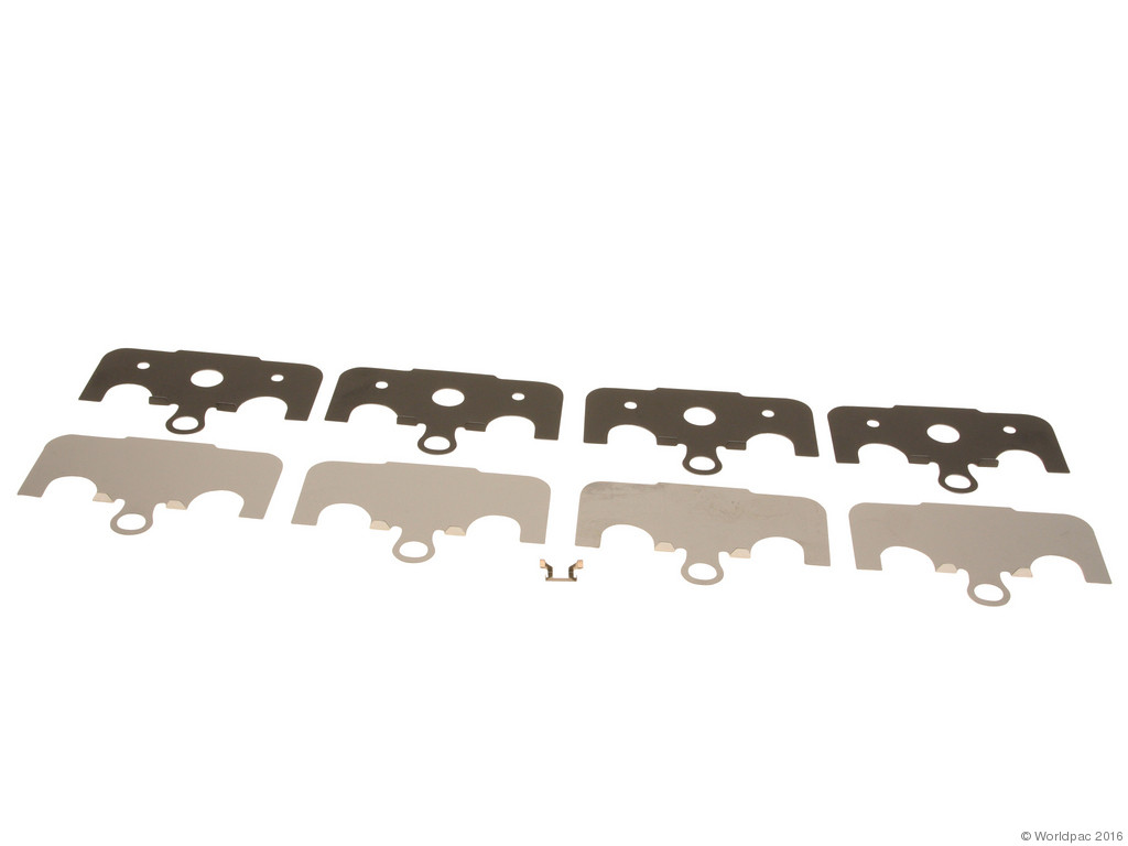 FBS - Genuine Brake Pad Shim Set (Rear) - B2C W0133-1739893-OES