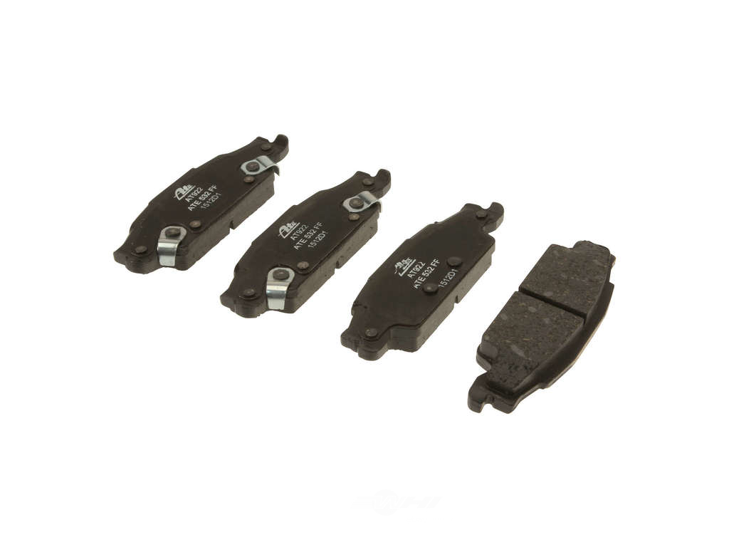 ATE -  Premium One Ceramic Brake Pad Set w/ Shims (Rear) - B2C W0133-1763415-APC