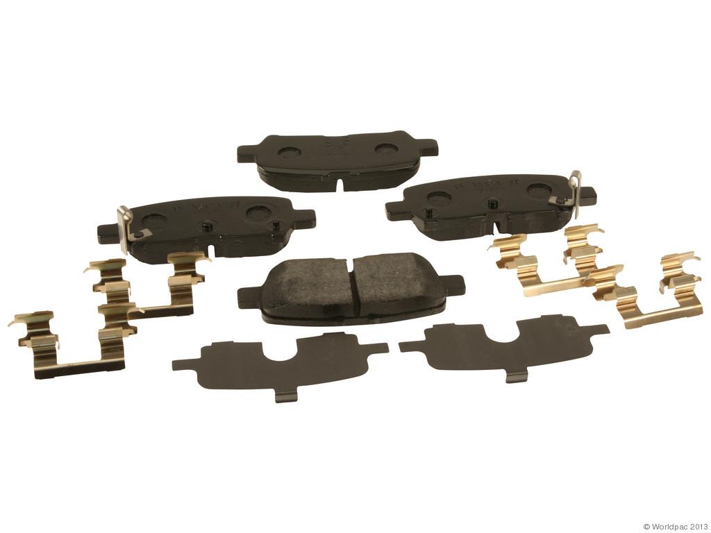 FBS - ACDelco GM OE Brake Pad Set With Shims (Rear) - B2C W0133-1767685-ACD