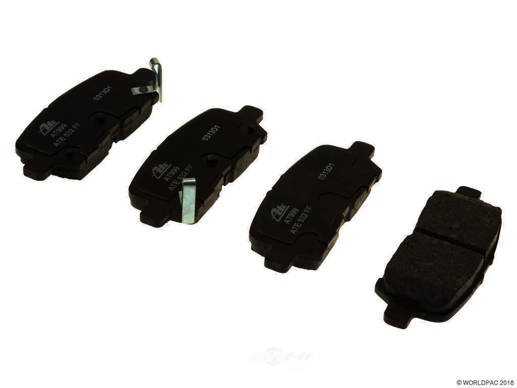 FBS - ATE Premium One Ceramic Brake Pad Set With Shims (Rear) - B2C W0133-1767685-APC