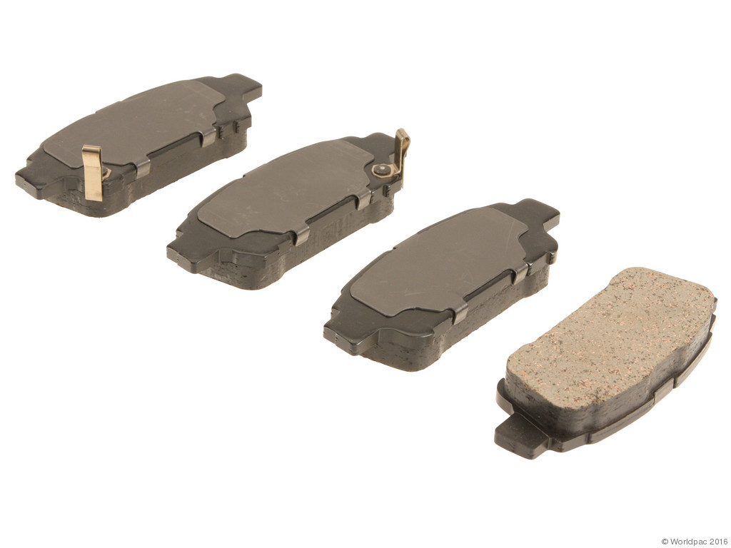 FBS - Advics Ceramic Brake Pad Set w/ Shims (Rear) - B2C W0133-1768425-ADV
