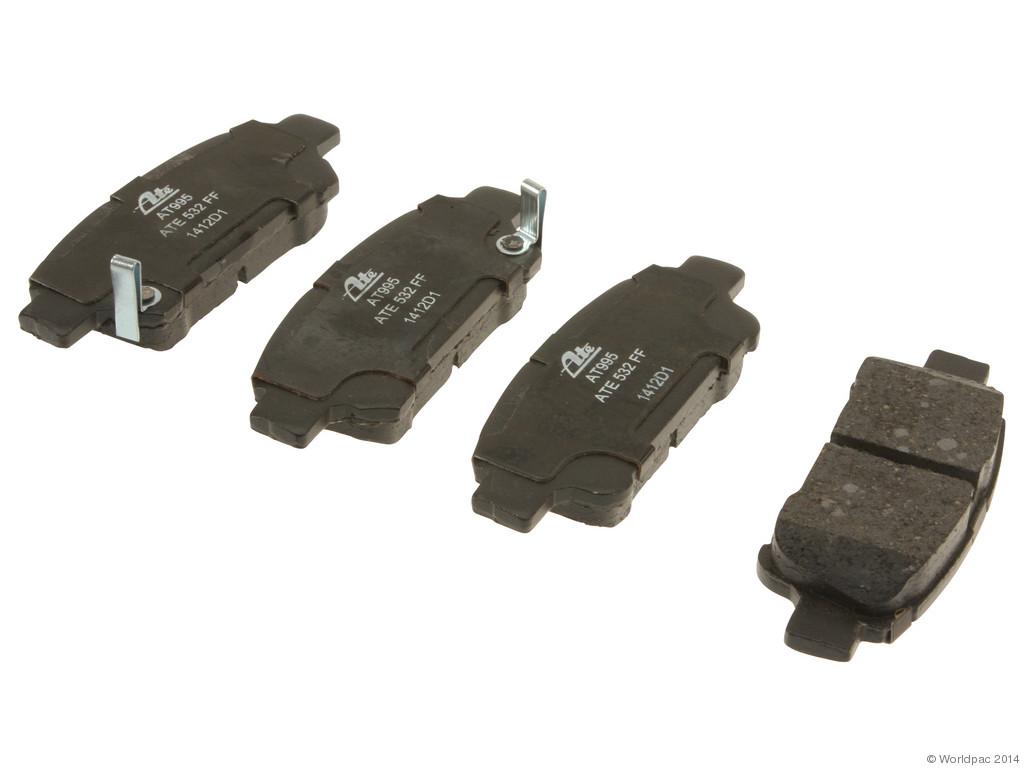 FBS - ATE Premium One Ceramic Brake Pad Set With Shims (Rear) - B2C W0133-1768425-APC