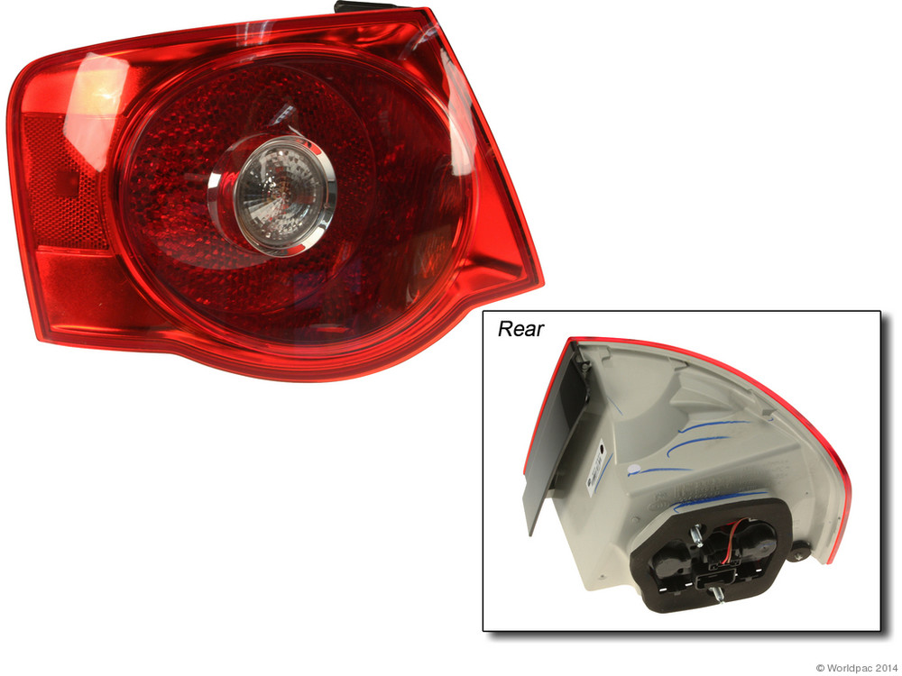 FBS - Hella OE Replacement Tail Light Assembly (Left Outer) - B2C W0133-1774588-HEL