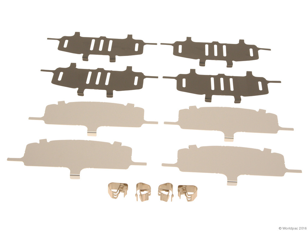 FBS - Genuine Brake Pad Shim Set (Front) - B2C W0133-1779835-OES