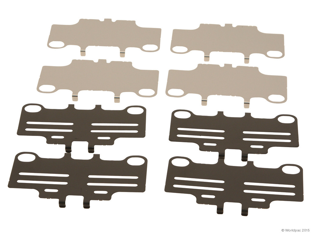 FBS - Genuine Brake Pad Shim Set (Rear) - B2C W0133-1779836-OES