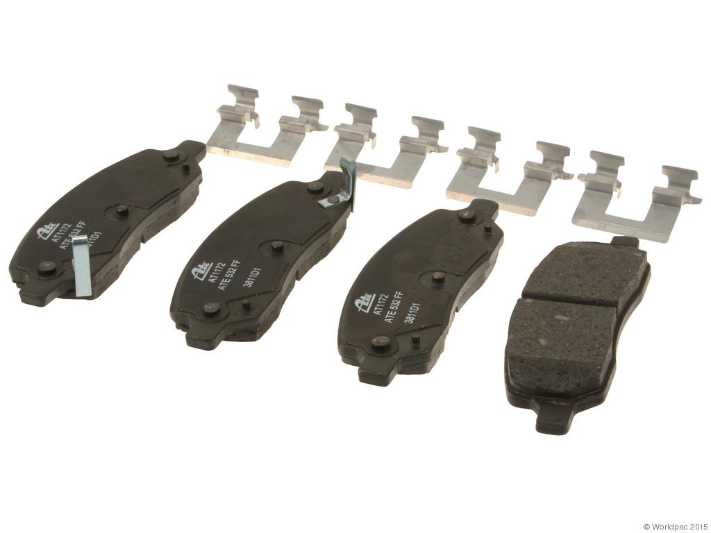 ATE -  Premium One Ceramic Brake Pad Set w/ Shims (Rear) - B2C W0133-1780946-APC