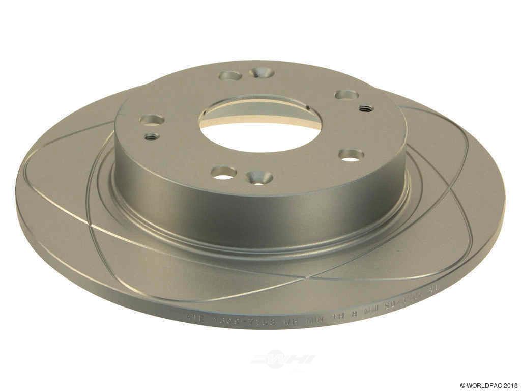 FBS - ATE Premium One Brake Disc Coated / Gas Slotted (Rear) - B2C W0133-1781341-APO