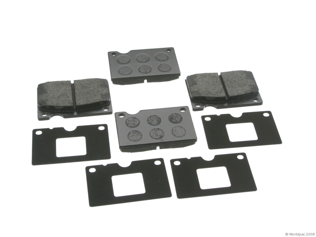 FBS - Textar OE Formulated Brake Pad Set With Shims (Front) - B2C W0133-1796089-TEX