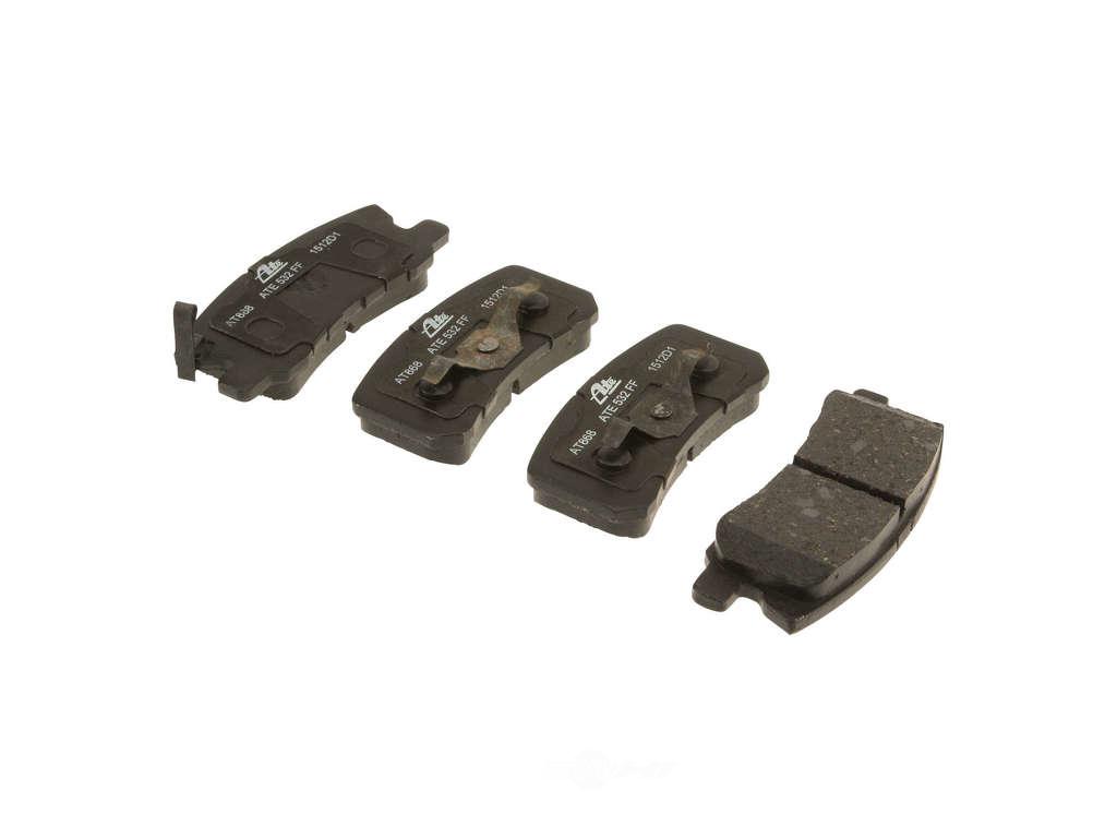FBS - ATE Premium One Ceramic Brake Pad Set w/ Shims (Rear) - B2C W0133-1800193-APC