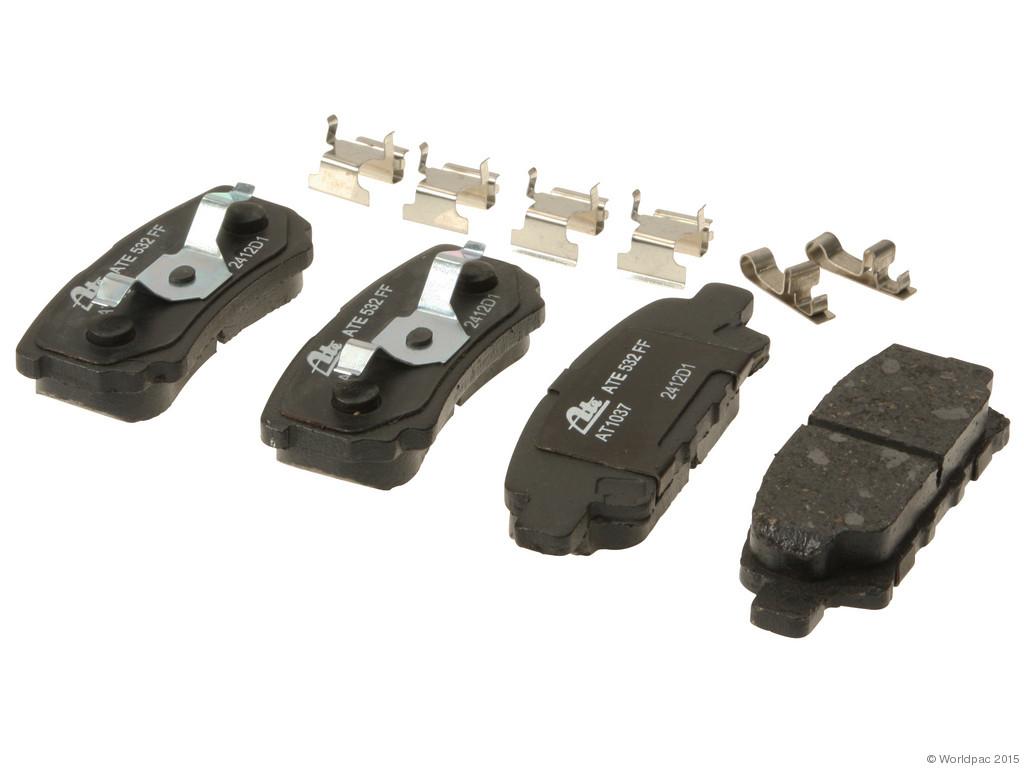 FBS - ATE Premium One Ceramic Brake Pad Set w/ Shims (Rear) - B2C W0133-1814490-APC