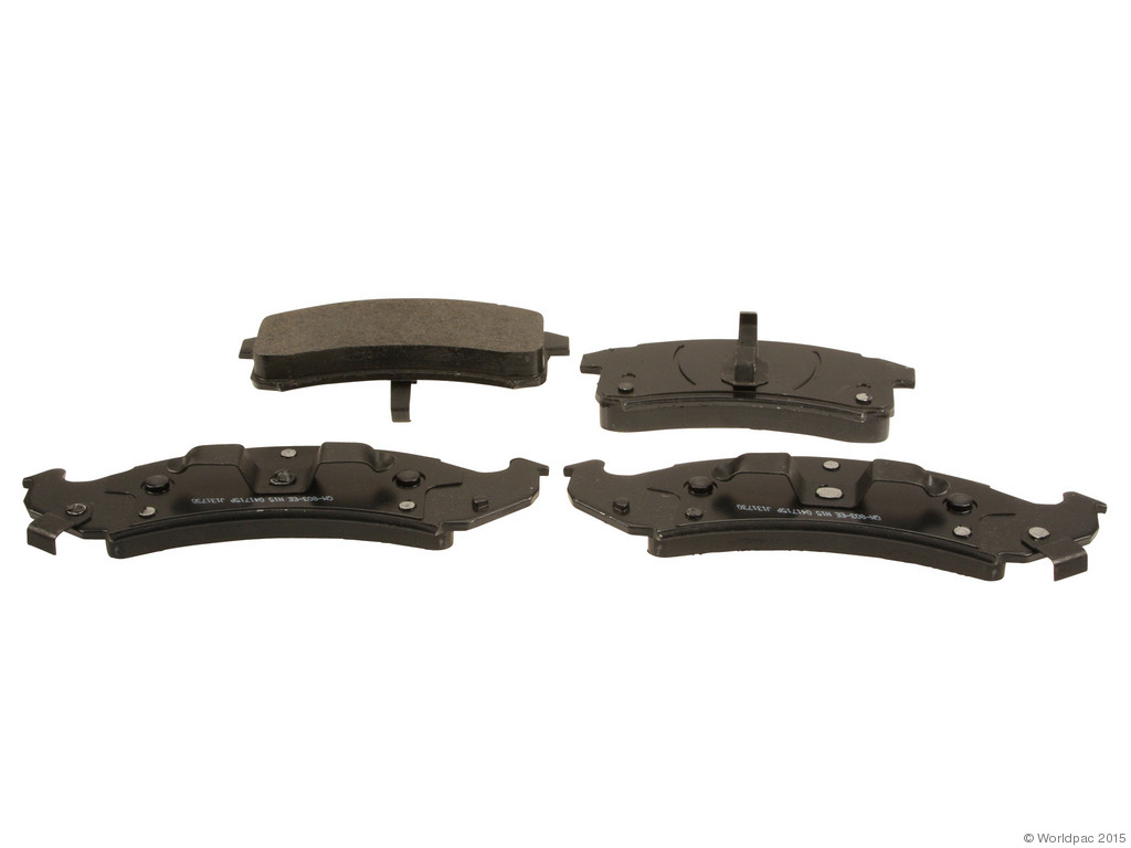 FBS - ACDelco GM OE Brake Pad Set (Front) - B2C W0133-1834180-ACD