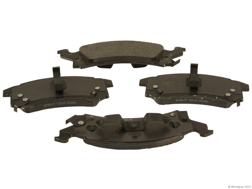 FBS - ACDelco GM OE Brake Pad Set With Shims (Front) - B2C W0133-1834184-ACD