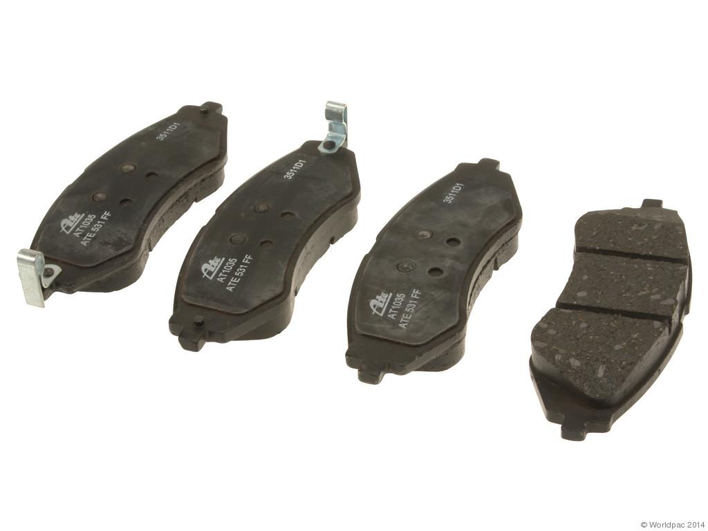 FBS - ATE Premium One Ceramic Brake Pad Set With Shims (Front) - B2C W0133-1847697-APC