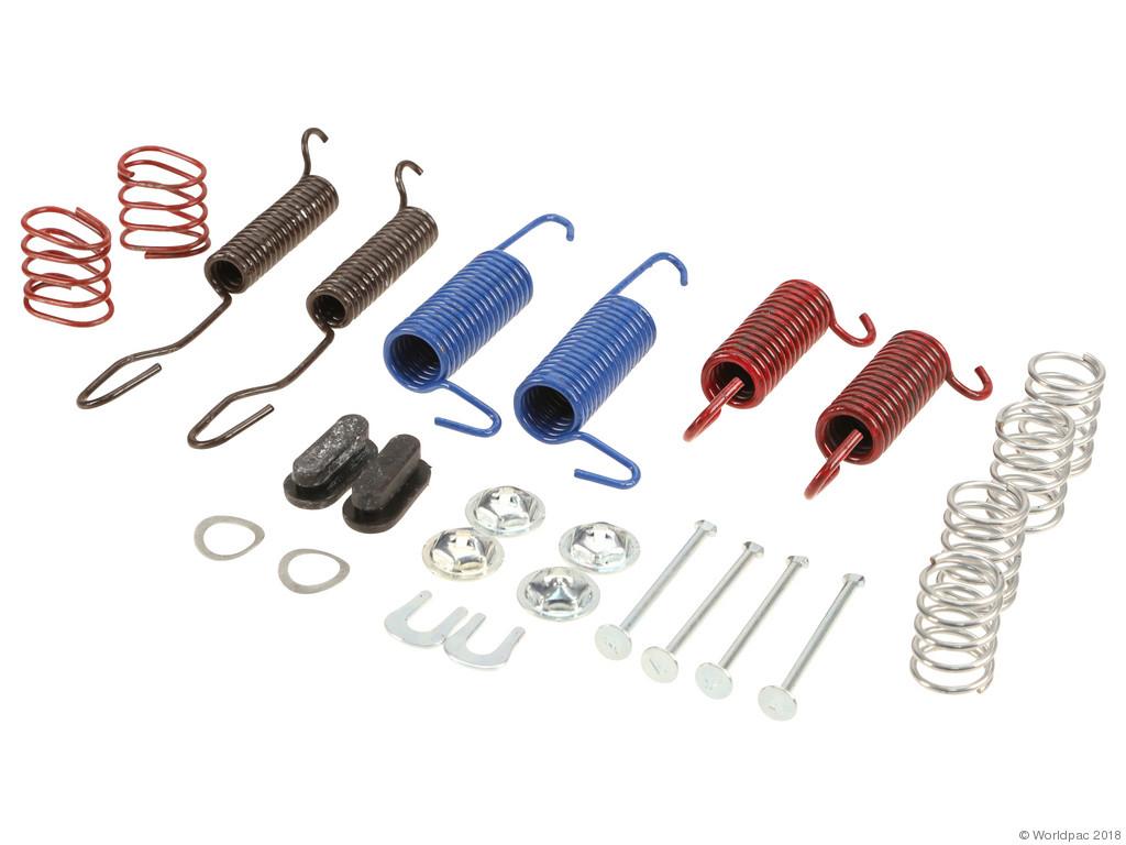 FBS - WBR Drum Brake Hardware Kit - B2C W0133-1857871-WBR