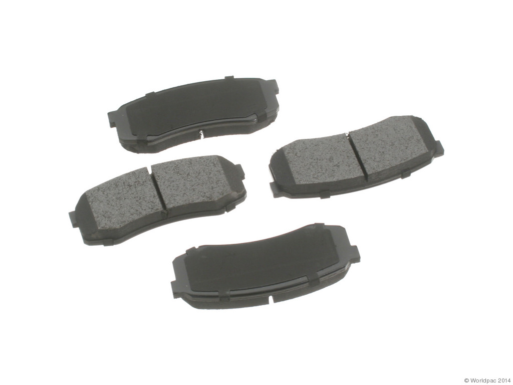 FBS - Advics Ceramic OE Replacement Brake Pad Set w/o Shims (Rear) - B2C W0133-1891469-ADV