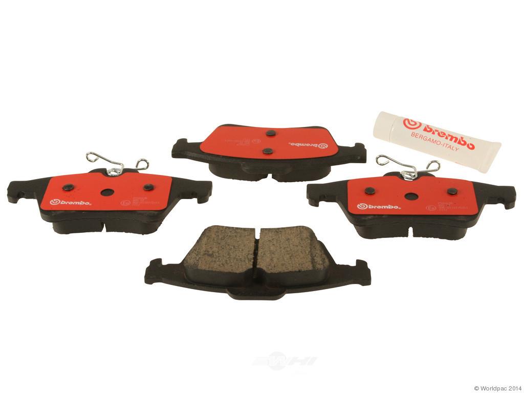 FBS - Brembo Ceramic Brake Pad Set With Shims (Rear) - B2C W0133-1892139-BRE