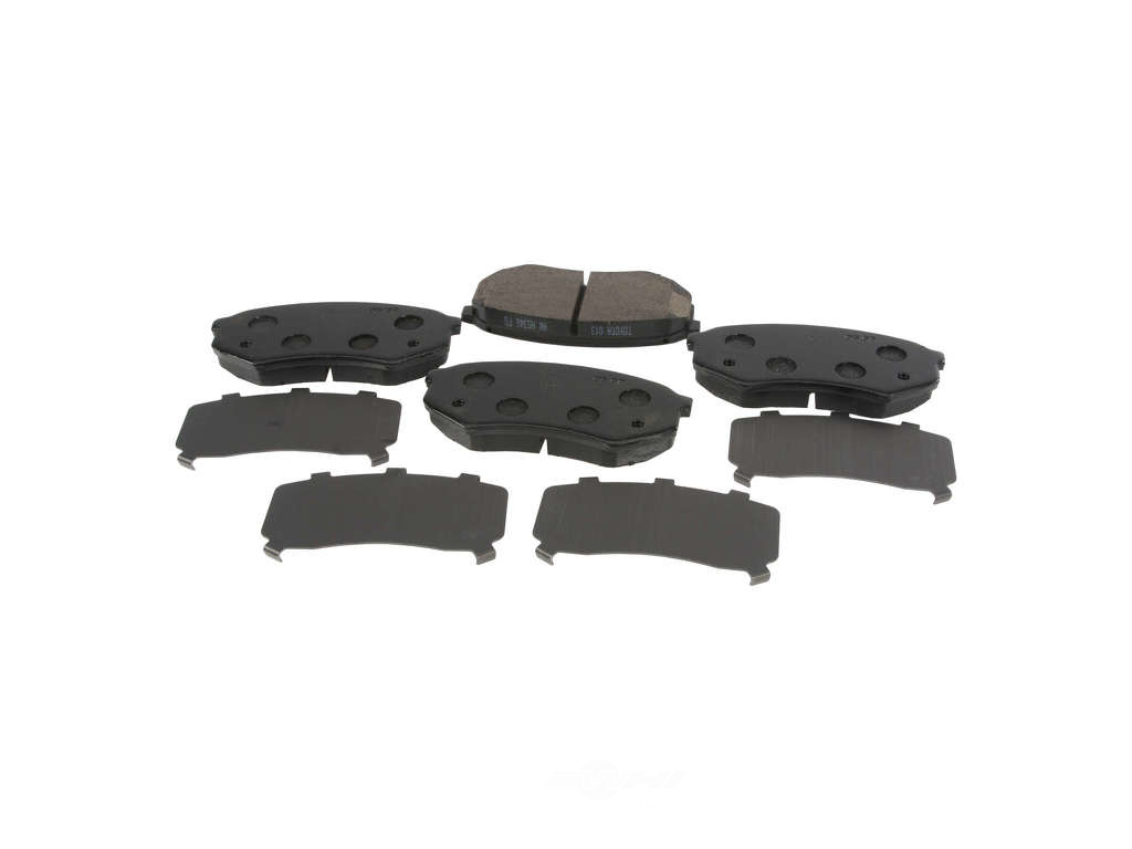 FBS - Genuine Brake Pad Set With Shims NLA 5/17 (Front) - B2C W0133-1893797-OES