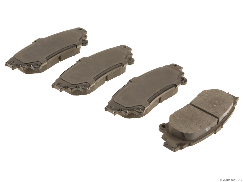 Advics -  Ceramic OE Formulated Brake Pad Set w/ Shims (Rear) - B2C W0133-1895709-ADV