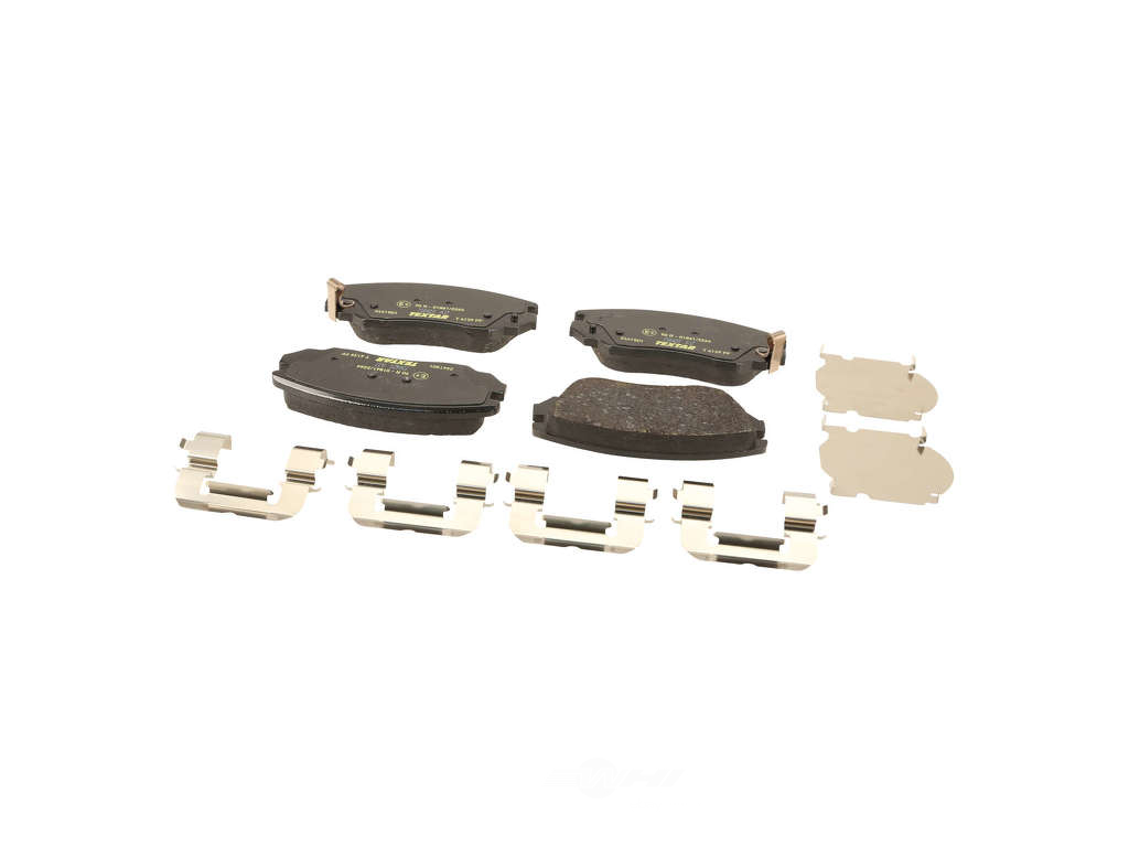 FBS - Textar OE Replacement Brake Pad Set w/ Shims (Front) - B2C W0133-1905032-TEX