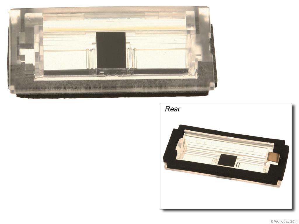 B2C CENTRAL - Genuine License Light Lens - B2C W0133-1909569-OES