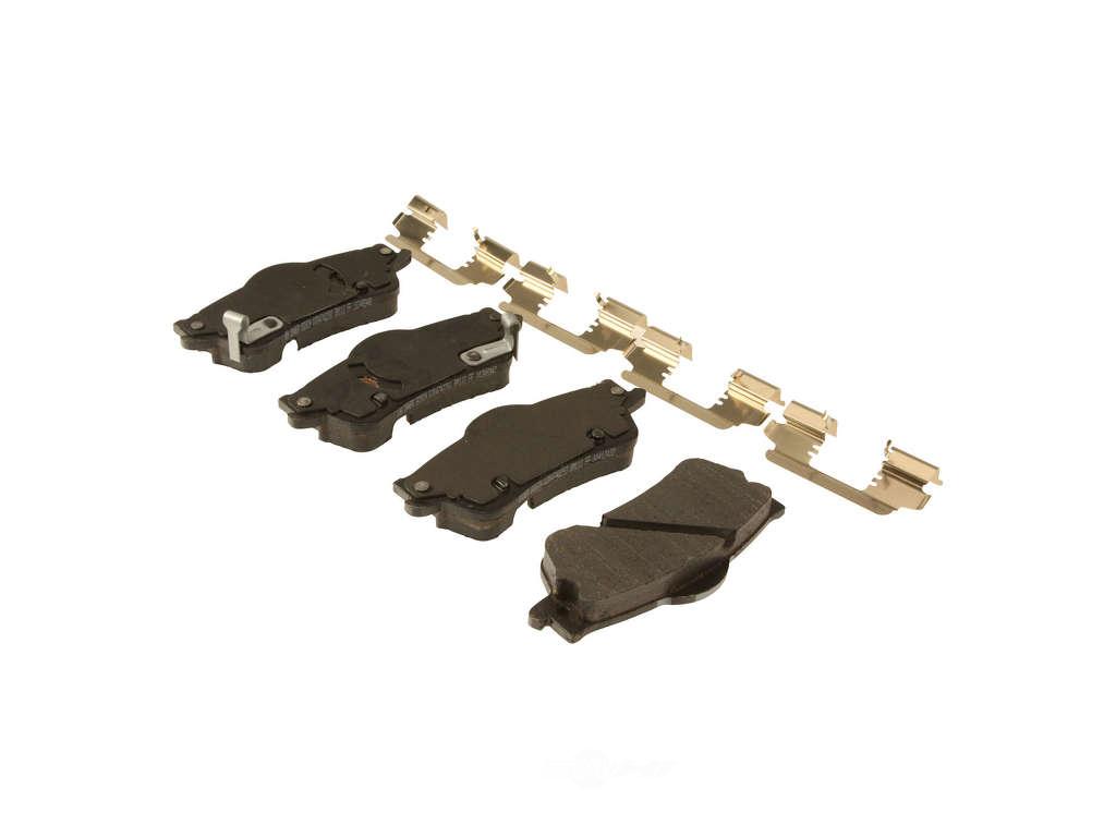 FBS - ACDelco GM OE Brake Pad Set With Shims (Rear) - B2C W0133-1918314-ACD