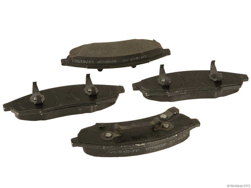 FBS - ACDelco GM OE Brake Pad Set With Shims (Front) - B2C W0133-1921282-ACD