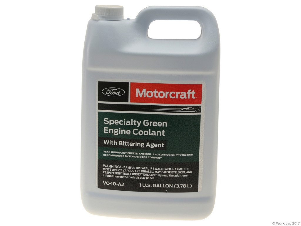 FBS - Motorcraft Concentrate Coolant/Antifreeze 1 Gallon Green - B2C W0133-1923975-MTR