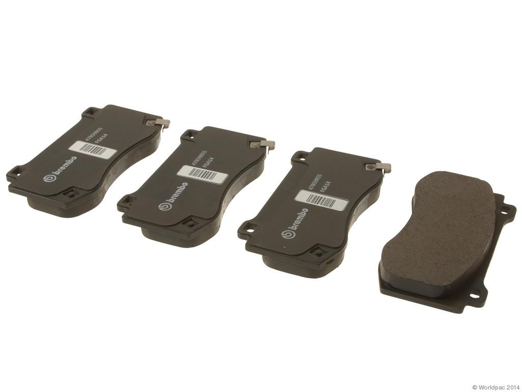 FBS - Mopar Brake Pad Set (Front) - B2C W0133-1930247-MPR