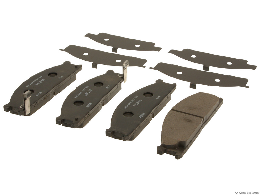 FBS - Hitachi OE Formulated Brake Pad Set with Shims (Front) - B2C W0133-1936317-HIT
