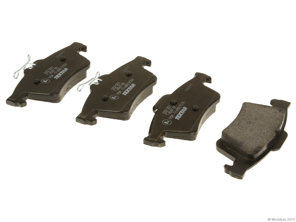 FBS - Textar OE Replacement Brake Pad Set w/ Shims (Rear) - B2C W0133-1942496-TEX