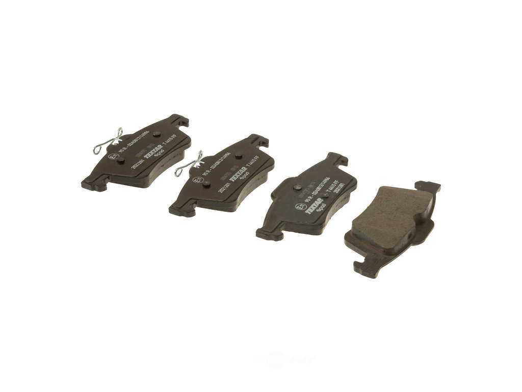 FBS - Textar ePad Epad OE Formulated Ceramic Brake Pad Set w/ Shims (Rear) - B2C W0133-1942496-TXE