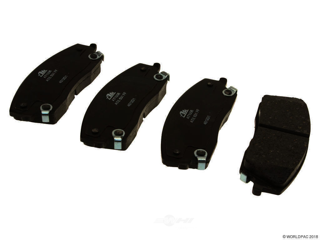 FBS - ATE Premium One Ceramic Brake Pad Set With Shims (Front) - B2C W0133-1951489-APC