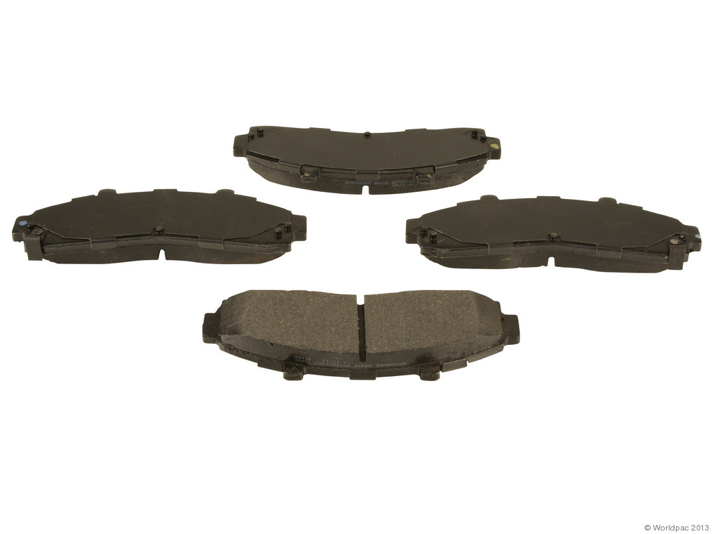 FBS - Motorcraft Standard Premium Brake Pad Set With Shims (Front) - B2C W0133-1951647-MTR