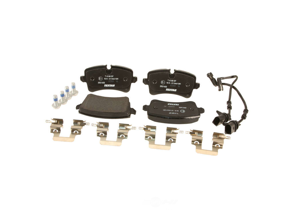 FBS - Textar OE Formulated Brake Pad Set With Shims (Rear) - B2C W0133-1952319-TEX