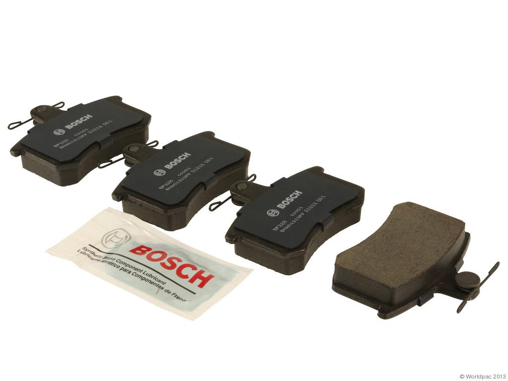 FBS - Bosch Quiet Cast Premium w/Hardware Brake Pad Set and Shims (Rear) - B2C W0133-1956957-BOS