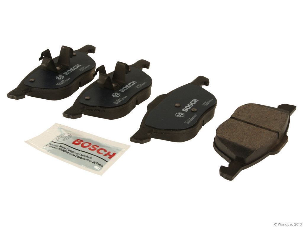 FBS - Bosch QuietCast Ceramic Brake Pad Set With Shims MST (Front) - B2C W0133-1956973-BOS
