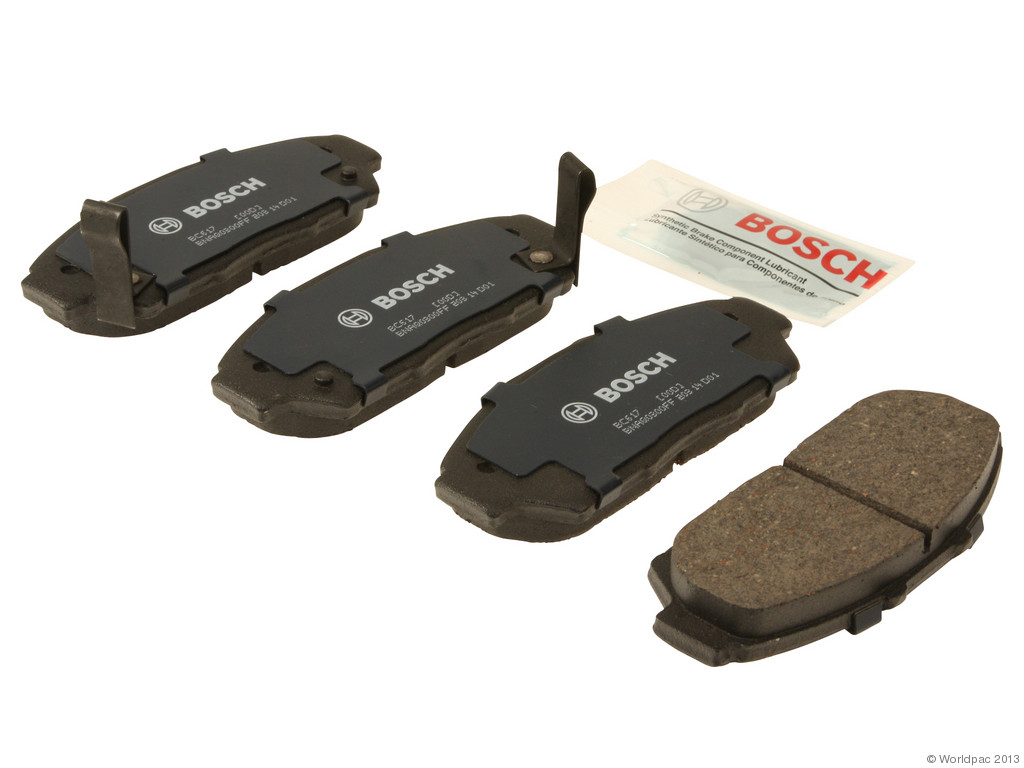 FBS - Bosch QuietCast Ceramic Brake Pad Set With Shims MST (Front) - B2C W0133-1956974-BOS
