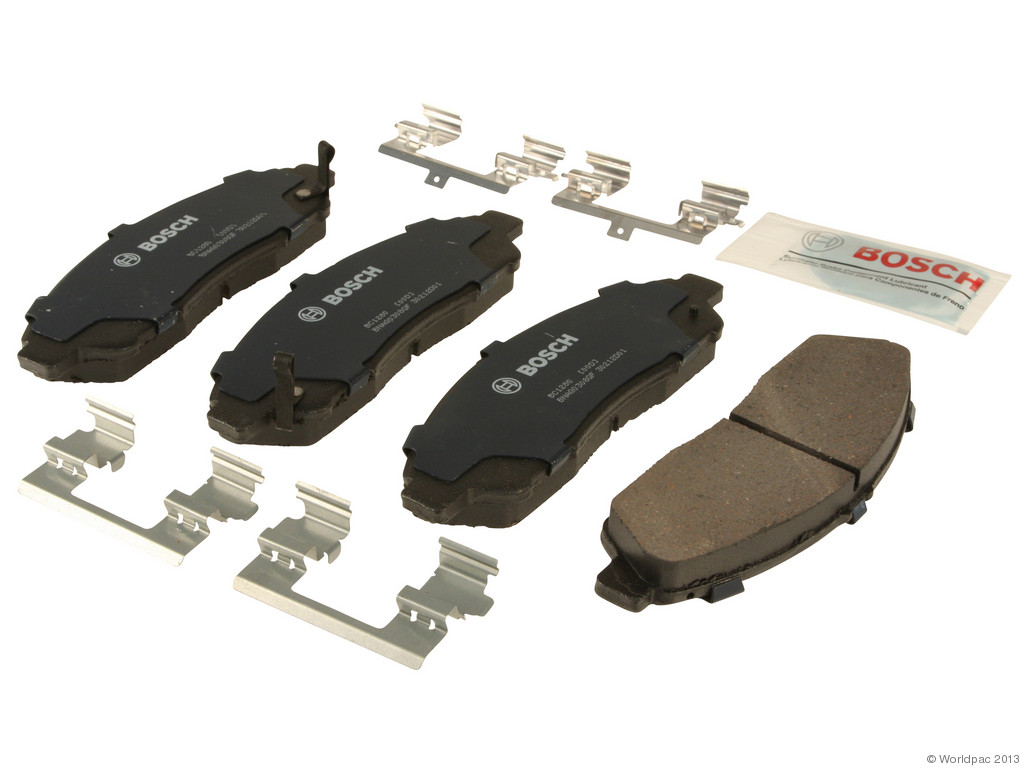 FBS - Bosch QuietCast Ceramic Brake Pad Set With Shims MST (Front) - B2C W0133-1957007-BOS