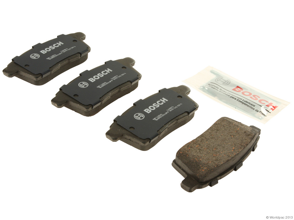 FBS - Bosch Quiet Cast Premium w/Hardware Brake Pad Set and Shims (Rear) - B2C W0133-1957420-BOS