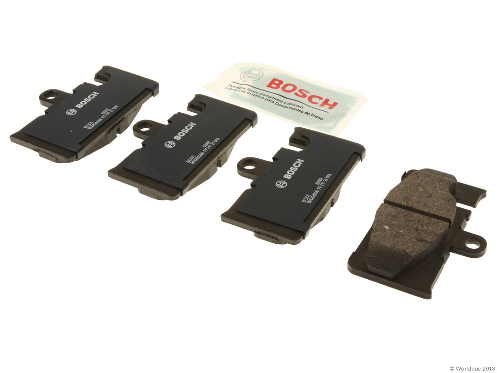 FBS - Bosch QuietCast Ceramic Brake Pad Set With Shims MST (Rear) - B2C W0133-1957422-BOS
