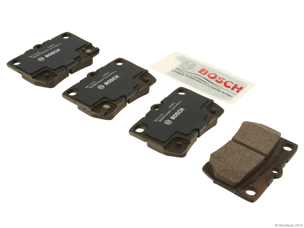 FBS - Bosch QuietCast Ceramic Brake Pad Set With Shims MST (Rear) - B2C W0133-1957425-BOS