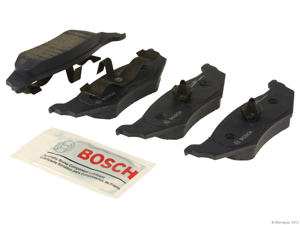 FBS - Bosch QuietCast Premium Brake Pad Set With Shims MST (Rear) - B2C W0133-1957428-BOS