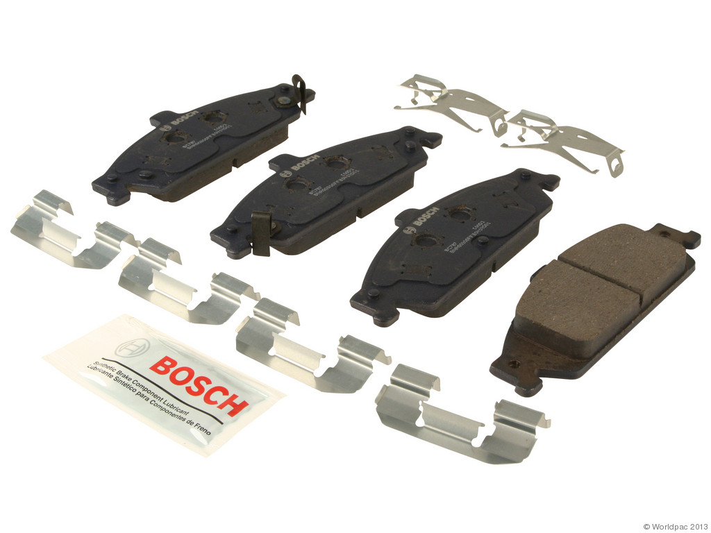 FBS - Bosch QuietCast Ceramic Brake Pad Set With Shims MST (Front) - B2C W0133-1957430-BOS