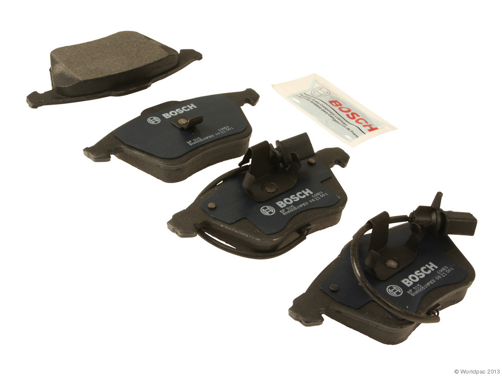 FBS - Bosch QuietCast Premium Brake Pad Set w/ Shims (Front) - B2C W0133-1957441-BOS